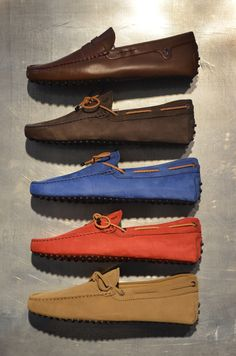 Tod's Gommini driving shoes.