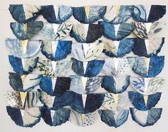 Priscilla Robinson-handmade paper and fused glass
