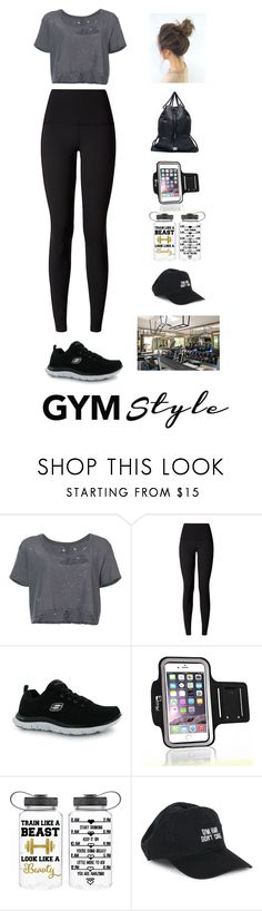"""""""Untitled #897"""" by france247 ❤ liked on Polyvore featuring Unravel, lululemon, Skechers, adidas Originals, Samsung and Body Rags"""