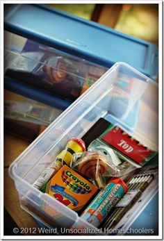 Operation Christmas Child Box article from Weird Unsocialized Homeschoolers