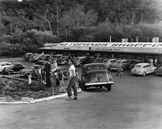 Los Angeles 1950s Topanga Shopping