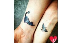 54 cat tattoos that will make you want to get inked: Cat and bee BFF tattoos Ink Master, Head Tattoos, Sister Tattoos, Tatoos, Meow Tattoo, Tattoo Ink, Arm Tattoo, Cat Silhouette Tattoos, Heart Tattoo Images