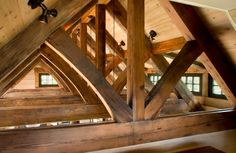 Open timber framing  (TKP Architects)
