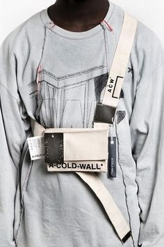 A-COLD-WALL* Drops New Items for Fall/Winter The latest from Samuel Ross' breakthrough label. Look Fashion, Fashion Bags, Womens Fashion, Fashion Trends, Scarf Shirt, T Shirt, Vetements Clothing, A Cold Wall, Fall Bags