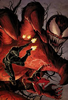 Venom, Scarlet Spider and Carnage