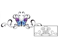 Show details for Lower-back Tattoo GSF-00100