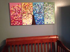 Bought this on etsy for the twins polka dot room. Love it!