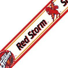 St. Johns   Red Storm   Wallpaper Border
