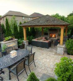 Backyard Gazebo Ideas | Pergola Ideas for Backyard – Images Via: houzz.com