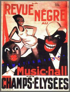 #Art #Poster: #FreeShipping Josephine Baker 1925 Revue Negre Paris Theater Vintage Poster Art Print 11X17 http://ift.tt/28NMnAH (via @zedign)
