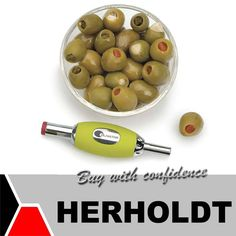 On Fridays we like to show you items that will lighten your mood. Have you ever tried stuffing olives by hand? Well, now there's no need to, the Olivator is an easy cleaning, dishwasher safe utensil that stuffs your olives. #funfridays #lifestyle