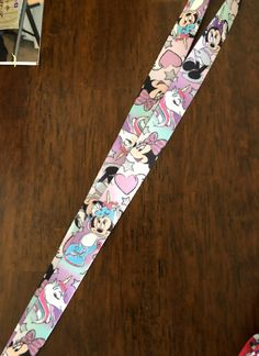 Paw Patrol Licensed Lanyard Princess Frozen LOL Minnie Mickey No Clip Strip
