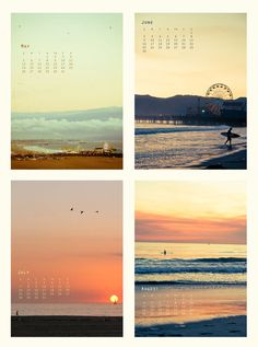 Be... Colorful - Modern Mini Calendar - 2012 | Design / Print ...