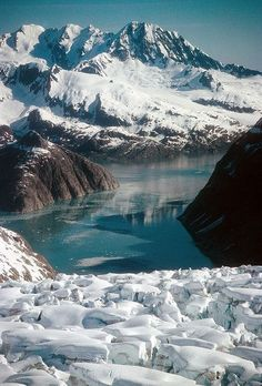 Most Popular National Parks in Alaska- Kenai Fjords National Park. Alaska is going to be something else. Places Around The World, Oh The Places You'll Go, Cool Places To Visit, Places To Travel, Around The Worlds, State Parks, Kenai Fjords, Beau Site, Alaska Travel