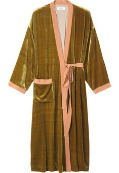 Silk Velvet Dressing Gown from Toast