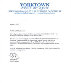 Sample Reference Letter Template | Photo ideas | Pinterest ...