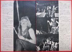 HANOI ROCKS MICHAEL MONROE Andy McCoy 1983 CLIPPING JAPAN MAGAZINE A7 E8 5PAGE | eBay