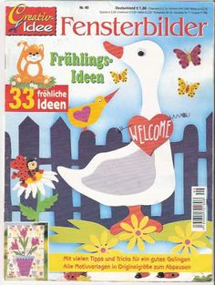 Fensterbilder Frhlings-Ideen - Anita Brīvniece - Picasa Webalbumok Infant Activities, Educational Activities, Craft Activities, Easter Crafts, Crafts For Kids, Magazine Crafts, Magazines For Kids, Toddler Art, Book Folding