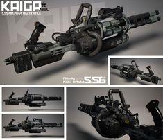 Kaiga Minigun, Deus Ex