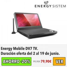 Energy Mobile DV7 TV. #ofertas #descuentos