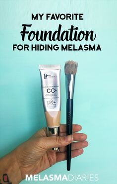 Looking for the best foundation to cover Melasma? This is it! See the full before & after pic at MelasmaDiaries.com