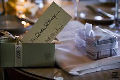 My place setting at my sister's wedding