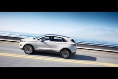 The Lincoln MKC Concept, the brand's first small vehicle that takes dead aim at the Acura RDX, BMW X1 and Mercedes-Benz GLK-Class, debuts on Sunday ahead of the 2013 Detroit Auto Show.