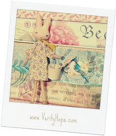 rabbit doll Pippi Lapin by Verity Hope