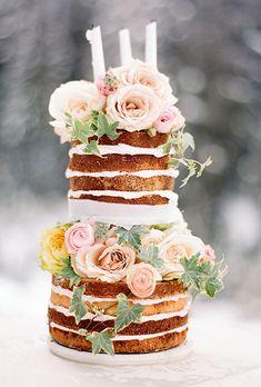 wedding naked cake - Cerca con Google