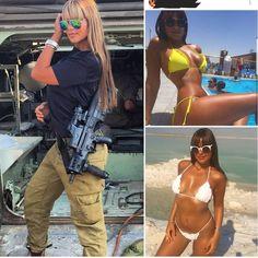 Hot IDF Babe Idf Women, Military Women, Mädchen In Uniform, Female Soldier, Army Soldier, Military Girl, Girls Uniforms, Sexy Girl, Bikini Girls