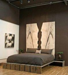 Bett Selber Bauen Für Ein Individuelles Schlafzimmer Design_diy Bett Mit  Nachttischen