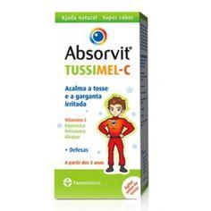 Absorvit Tussimel C Xarope, é um suplemento alimentar para crianças, composto por Equinácia e Vitamina C, ajudas importantes no reforço imunitário, e por Primavera e Alcaçuz plantas que promovem um efeito calmante das vias respiratórias, ajudando no alívio da tosse e na diminuição da sensação de irritação na garganta.