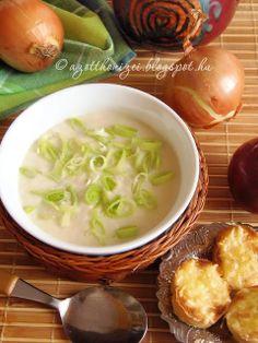 Az otthon ízei: Sajtos-tejszínes póréhagyma krémleves Food And Drink, Soup, Yummy Food, Ethnic Recipes, Foods, Food Food, Food Items, Delicious Food, Soups