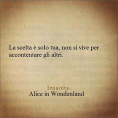 frasi alice in wonderland - Cerca con Google