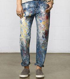 Jeans desastre.
