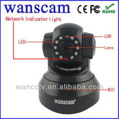 HD IP Wifi Pet Camera Support 32G Card