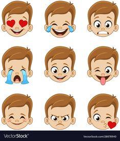 Emoticon Kiss Emoji Vector Images (over Emotions Preschool, Preschool Learning Activities, Book Activities, Preschool Activities, Art Drawings For Kids, Drawing For Kids, Funny Emoticons, Smileys, Kiss Emoji