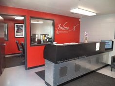 Inline X Automotive - Hopkins, MN, United States. waiting room