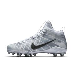 Nike Alpha Field General Elite Camo Men's Football Cleat Size 11.5 (White)  - Clearance