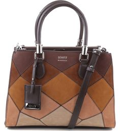 TOTE LORENA PATCHWORK HOT COFFE