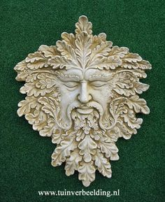 HALFORD GREEN MAN One of the most striking Green Men in our collection is the Halford Green Man. Superbly detailed and of an impressive size, this piece demands a prominent place in the garden.