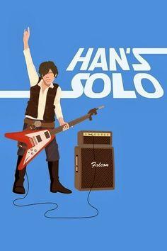 Hand Solo, Illustration.