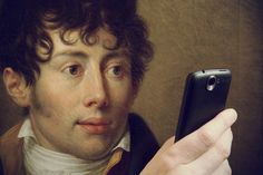 François-Xavier Fabre, Portret Michała Bogorii Skotnickiego, 1806 #museumselfie