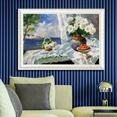Original Oil Painting on canvas Mediterranean landscape painting cuadros abstractos Venice Painting Italy flower Wall pictures hand painted Oil Painting App, Bull Painting, Oil Painting Frames, Venice Painting, Large Painting, Oil Painting On Canvas, Cheap Paintings, Original Paintings, Oil Paintings