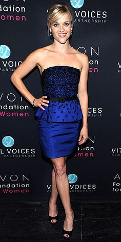 Reese Witherspoon in Jason Wu Resort 2010 'Kristie' dress at the Vital Voices 2010 Global Leadership Awards, March 2010