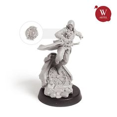 28mm wargaming and collectible miniature The Assassin by