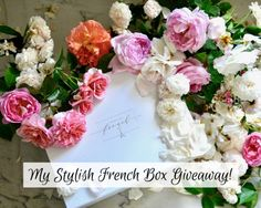 une femme d'un certain âge |My Stylish French Box Giveaway (theme: Holidays In Provence). Details on how to enter at une femme d'un certain âge.