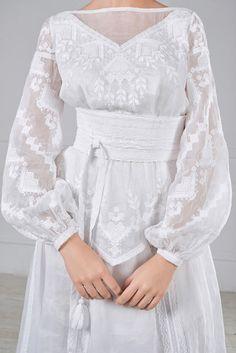 Сукня весільна з вишивкою, фото 3