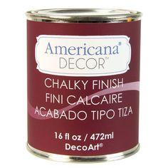 DecoArt Americana Decor 16-oz. Romance Chalky Finish