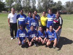 Equipo de fútbol femenino del Club Eclipse.